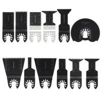Sägeblätter 12tlg Schleifblätter Zubehör Multitools Werkzeug Set