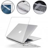 Gummierte Harte Schutzhülle Hülle Tastaturschutz für MacBook Air 13