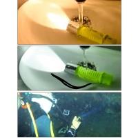 LED Tauchlampe Unterwasser Taschenlampe Taucherlampe Gelb