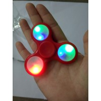 LED Fidget Spinner, rot Hander Spinner Finger Pocket Finger Spielzeug