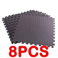 Schutzmatten Puzzlematten Sportmatten Steckmatte Bodenmatte 8er Set