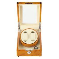Automatische Uhrenbeweger 2 + 0 Holz Uhrendreher für Automatikuhren