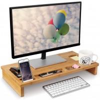 Monitorständer Bildschirmerhöhung Schreibtischaufsatz als Schreibtisch