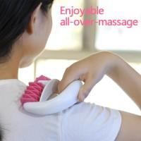 Massagegerät Roller Schröpfen Anti Cellulite Massage Rolle Set Rosa