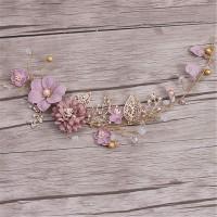 Lange Haare Blume Hochzeit handgemachte Party Hochzeit Haarschmuck