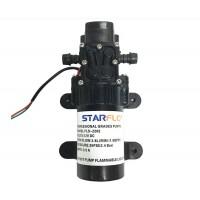 Membranpumpe Wasserpumpe Druckpumpe Gartenpumpe für Wohnmobil 3.8L/min