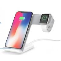 Ladegerät Wireless Charger Schnellladestation 2in1 für Apple Watch