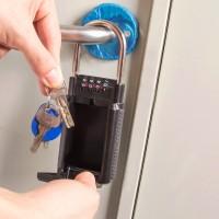 Schlüsseltresor KeyGarage Schlüsselsafe mit 4-Stelliges Zahlencode
