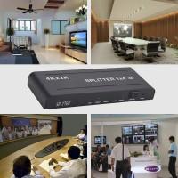 HDMI Splitter Verteiler Umschalter 1 auf 4 Distributor 1080P schwarz