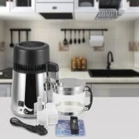Wasserdestilliergerät Edelstahl Wasser Distiller TDS-Messgerät silber