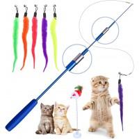 Interaktives Katzenspielzeug mit Glöckchen für Katze und Haustier