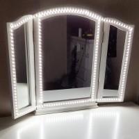 Spiegelleuchte Schminktisch LED Schrankbeleuchtung mit Beleuchtung 4M