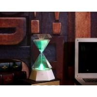 LED Nacht Licht Hourglass Induktion Sanduhr Nachtlicht Tischlampen RGB