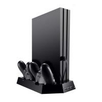 PS4 Vertikaler Standfuss Ständer Halter Lüfter für Playstation 4