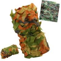 Armee Tarnnetz Tarnung Netz Militär f. Auto Camouflage 2*3m dunkelgrün
