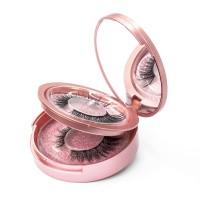 3D Magnetisch Augenwimpern Künstliche Wimpern 3 Paar Set mit Eyeliner