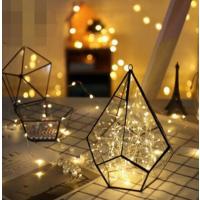 Lichterkette LED Kupferdraht Batteriebetrieben 4er Set 7M für Party
