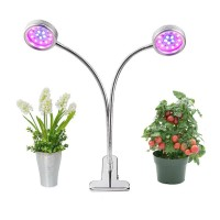LED Pflanzenlampe 16W dual Kopf Pflanzenleuchte Pflanzenlicht