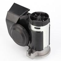 12v Drucklufthorn mit Kompressor schwarz