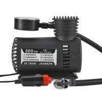 Luftkompressor, Auto KFZ Mini-Kompressor,  60W 12V, Kabel: 3M