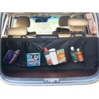 Auto Aufbewahrungstasche Kofferraum Organizer mit 6 Taschen Schwarz