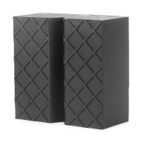 Gummiauflage Unterstellbock Gummi Jacken Pad mit Basisplatte schwarz