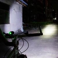 Fahrradlicht LED Fahrradbeleuchtung Frontlichter  mit Akkupack Set 10W