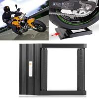 Motorrad Hinterrad Rolle Drehhilfe Putzhilfe Kettenreinigungsständer