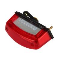 LED Motorrad Endstück Bremsen Licht 12V 5A  rot -weiß