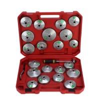 23 tlg. Ölfilterschlüssel Set Aluminum