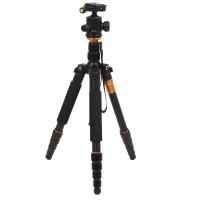 """Fotostativ Dreibeinstativ Kamerastativ Kugelkopf 3/8"""" 154.5cm Schwarz"""