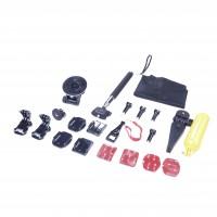 22-In-1 Action-Kamera Zubehör-Set für GoPro Hero 1 2 3 3+ 4