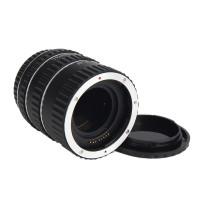 Makro Zwischenringe Objektiv-Adapter 3-teilig 31mm, 21mm & 13mm für Canon EF/EF-S-Objektiv und DSLR Köper EOS 600D 7D 70D 700D DC373