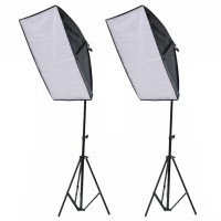 Fotostudio Set Softbox Studioleuchte Studiosets Stativ Studio Lampen