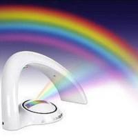 Tischlampe Nachtlight Leuchte Regenbogen LED Lampe bunt
