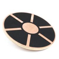 Balance Board Wackel Brett Gleichgewicht Kreisel MDF-Holz 39,5cm