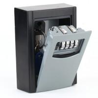 Schlüsseltresor Schlüsselsafe mit Zahlenschloss Edelstahl,Wandmontage