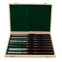 Drechselmesser Drechseln 8 Drechselleisen Set HSS-Stahl mit Holzbox