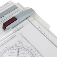 Zeichenbrett A4 Zubehör 37x29.5cm Zeichenplatte Zeichentisch Professionell Geodreieck