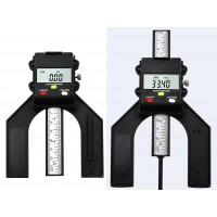 Tiefenmesser Höhenmesser Tiefenlehre 0-80mm digital Display schwarz