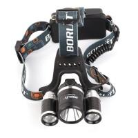 LED Stirnlampe Licht 3000LM mit LED Stirnlampe für Jagd Camping