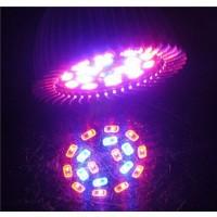 LED Pflanzenlampe, Pflanzenleuchte 18W E27 / Pflanzenlicht blau rot
