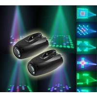 Mini Bühnenbeleuchtung 64 LEDs Farbwechsel Leuchte 10W Pub Party