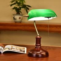 Bankerlampe Banker Schreibtisch Leselampe Bibliotheksleuchte Retro