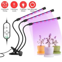 Pflanzenlicht Pflanzenlampe LED Wachstumslampe Grow Light Dimmbar 27W