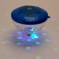 Unterwasser LED Lichtshow Poolbeleuchtung Wasserdicht Luftblase Lampe Leuchte 7 Farben Farbwechsel für Spa Tauchen