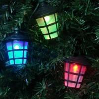 Solar Lichterkette LED Streifen 50 Laternen Partylichterkette 12.5m