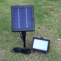 LED Solar Lampe für Garten 6V/2.5W weiss