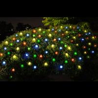 Solar Lichterkette 4,8m 20LED Streifen, Wasserdicht Schnurlicht
