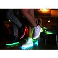 LED Schuhe / Sneaker Leuchtende Gr.37 schwarz